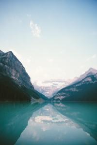 gespiegelde bergen